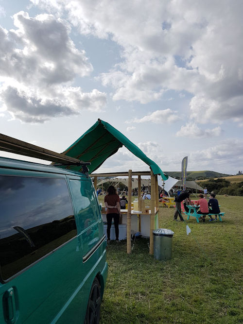 Love Trails Festival 2017 : View  from the van