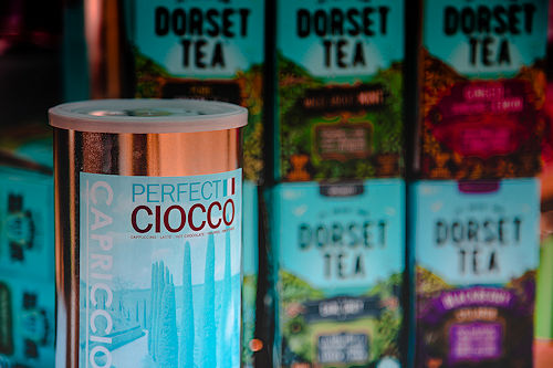 Simon Billing Photographer : Bamboo Coffee uses Dorset Tea and CAPRICCIO Hot Chocolate