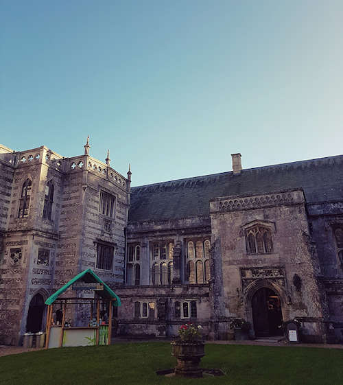 Milton Abbey Wedding Fare : Blue Sky